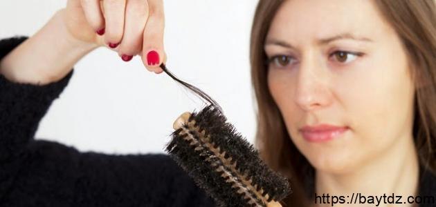 لوقف تساقط الشعر