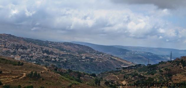 ما هي مساحة لبنان الجغرافية