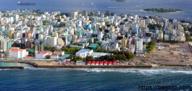 مدينة ماليه في جزر المالديف بيت Dz