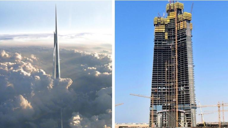 """اخر تطورات برج جدة """" برج الوليد بن طلال """""""