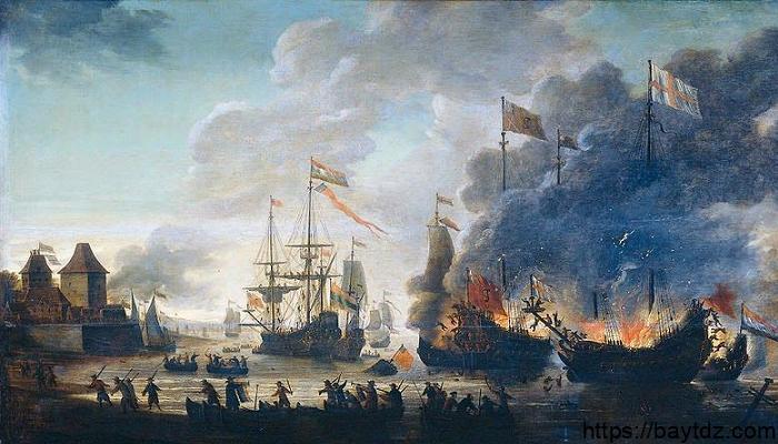 """الحروب الإنجليزية الهولندية """" الأنجلو هولندية """""""