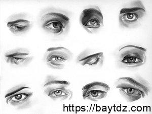 تحليل الشخصيات من نظرات العيون