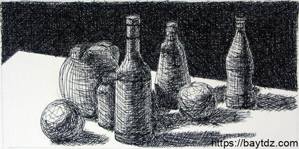 رسومات بالفحم الابيض