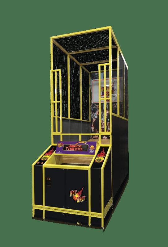 Hot Shot Redemption Game