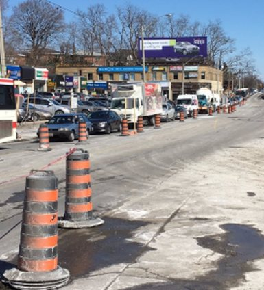 One-lane wonder back to Rumsey