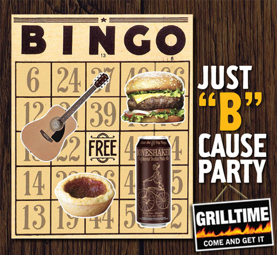 "Grilltime's Just ""B""Cause Party!"