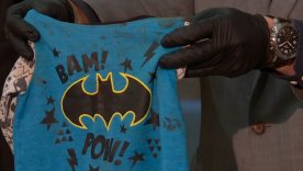 Toddler's Batman shirt