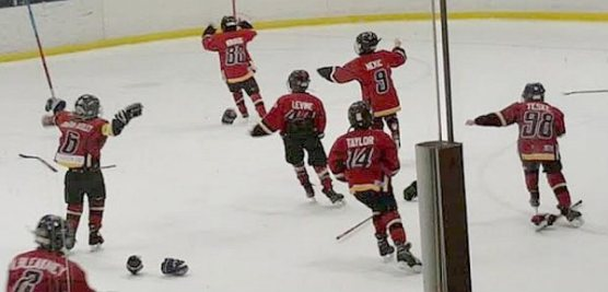 Thrilling overtime win for Minor Atom Leaside Flames