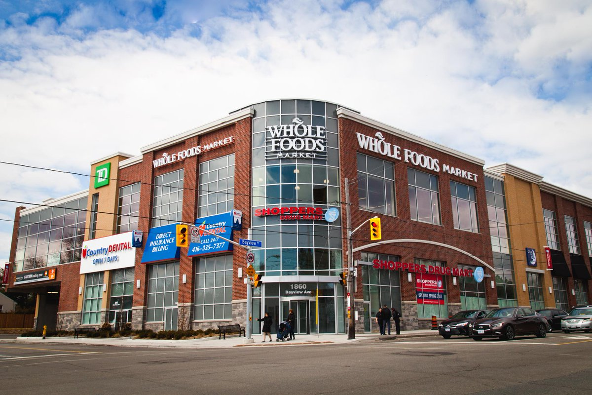FIRST LOOK:  Grand opening of Whole Foods - Leaside