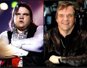 Meat Loaf then and now