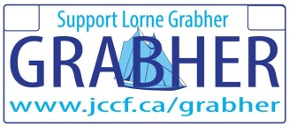 grabher sticker