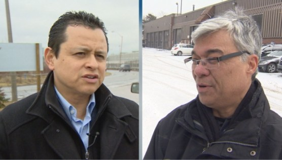 Hector Moreno, left, Trevor Tenn, right. Both are no longer working with the City/CBC