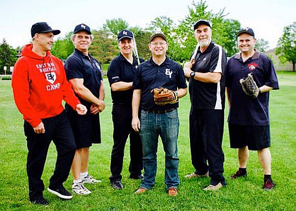 East York Baseball leaders captured in time at Wadlow Park