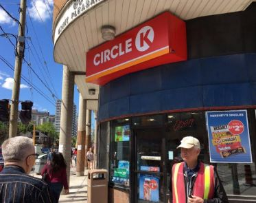 Howdy pardner, did this here Circle K used to be a Mac's