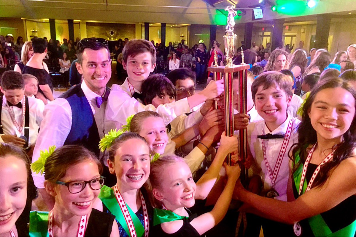 St. Anselm's students chacha to top trophy at Palais Royal