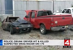 Ford 150 that slammed into Mazda