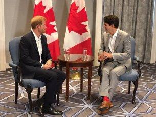 Meets Trudeau