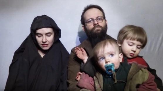 Joshua Boyle and family