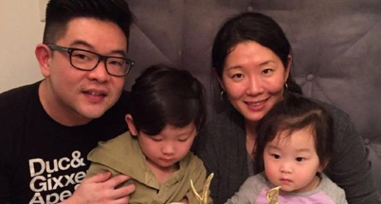 Eugene Kim and family