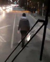 nov 13 rider blocks bus
