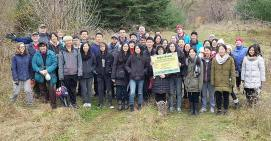 Seton Woods volunteers