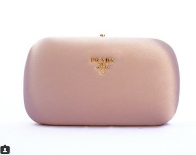 Clutch me close//Prada blush clutch now in new arrivals