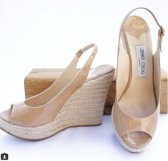 Jimmy Choo espadrille wedge