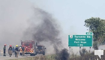 OPP say two dead in tanker truck rollover, fire on Hwy 407 – The