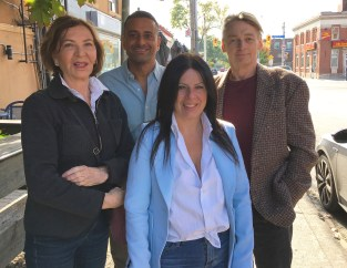Heather de Veber, Ruppen Seonis, Roula Panagiotopoulos and Ted Hanlan
