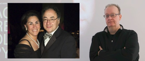 Writer Adrian Humphries (right) reveals secrecy order on inheritance files of Barry and Honey Sherman