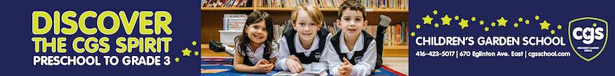CGS - Children's Garden School | Private Preschool to Grade 3