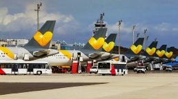 Planes being impounded as they land/Thomas Cook