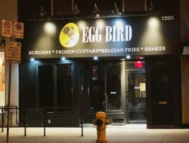 Egg Bird prepares to open at former Creeds, former Second Cup/Bulldog