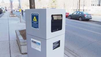 800-lb Automatic Speed Enforcement camera