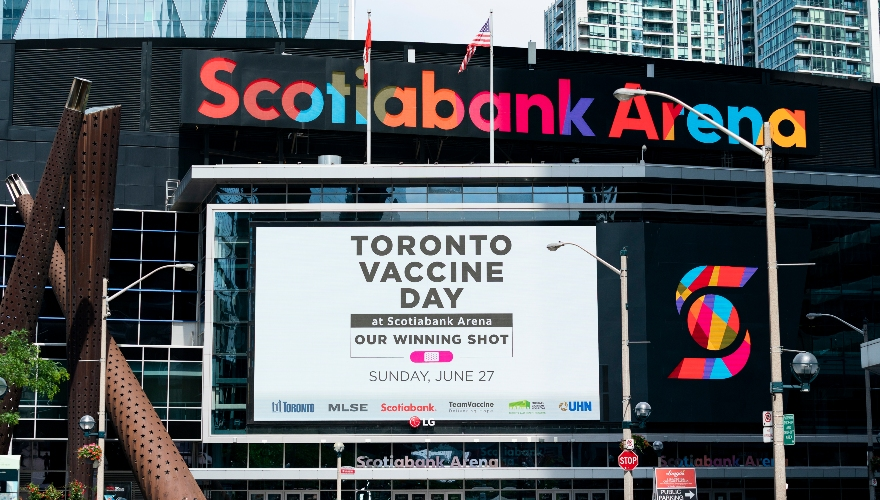 Toronto Vaccine Day aims to inject as many as 25,000 souls - The South Bayview Bulldog