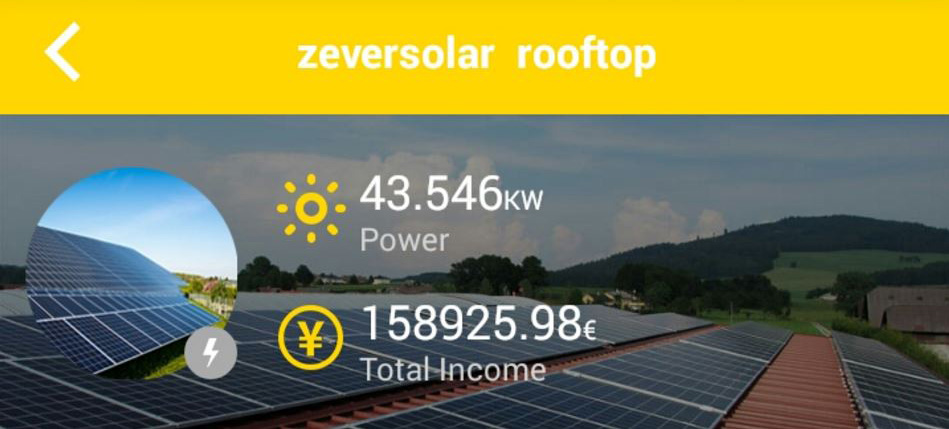 Zeversolar: New App for Cloud-Based PV System Monitoring