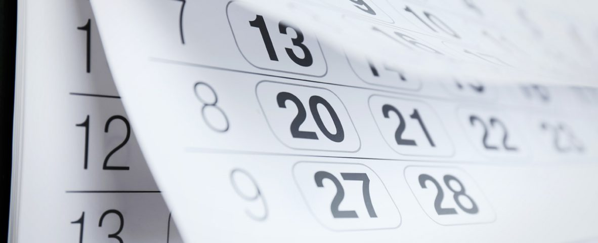 Calendario oposiciones justicia