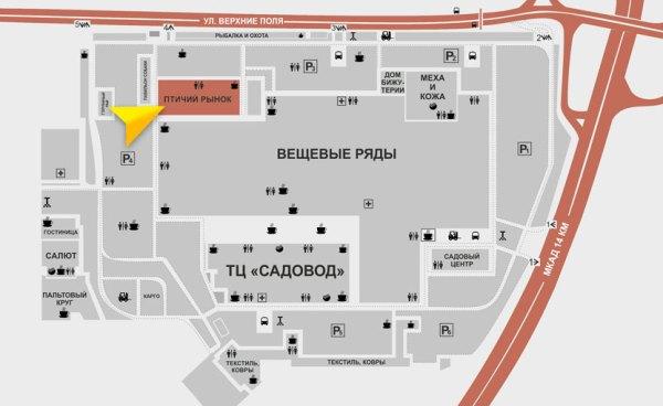 Птичий рынок на Садоводе в Москве - животные и цены, часы ...