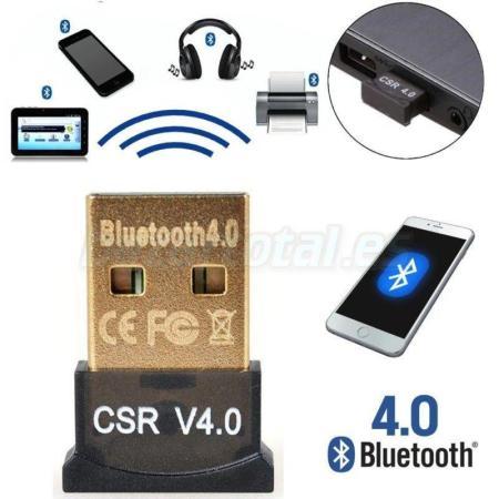 BLUETOOTH 4.0 DONGLE MINI ADAPTADOR USB STICK 2.0 MODO DUAL DE ALTA VELOCIDAD