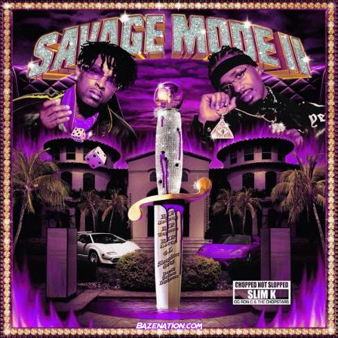 21 Savage & Metro Boomin – Runnin [ChopNotSlop Remix] Mp3 Download