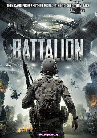 DOWNLOAD Movie: Battalion (2018) WEBRip 300Mb Hindi Dual Audio 480p ESub