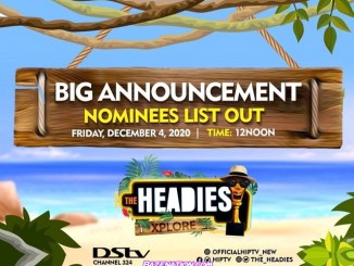Headies Awards 2020: Check Out Full Nominees List