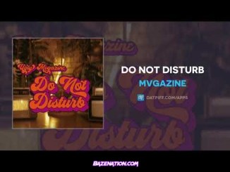 Mvgazine - Do Not Disturb Mp3 Download