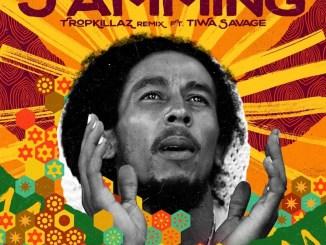 Bob Marley & The Wailers - Jamming (Tropkillaz Remix) ft. Tiwa Savage Mp3 Download