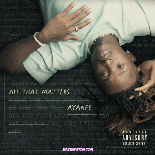 Ayanfe - My Mind Ft. Peruzzi Mp3 Download