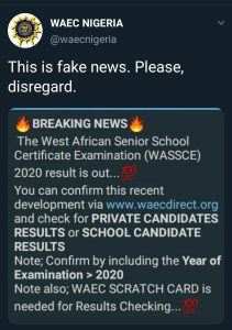 Are the WAEC results out