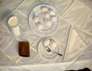 1 Леонид Чупятов. Белый натюрморт. 1936. 300x232 - Леонид Чупятов