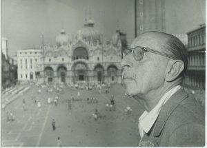 1 Stravinsky in Venice September 1951 300x215 - Русские сезоны