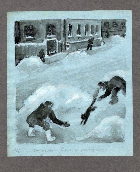 3 10 - Изобразительное искусство блокадного Ленинграда