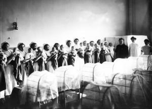 рудное отделение Императорского воспитательного дома. Санкт-Петербург. 1913. Фотоателье К. К. Буллы
